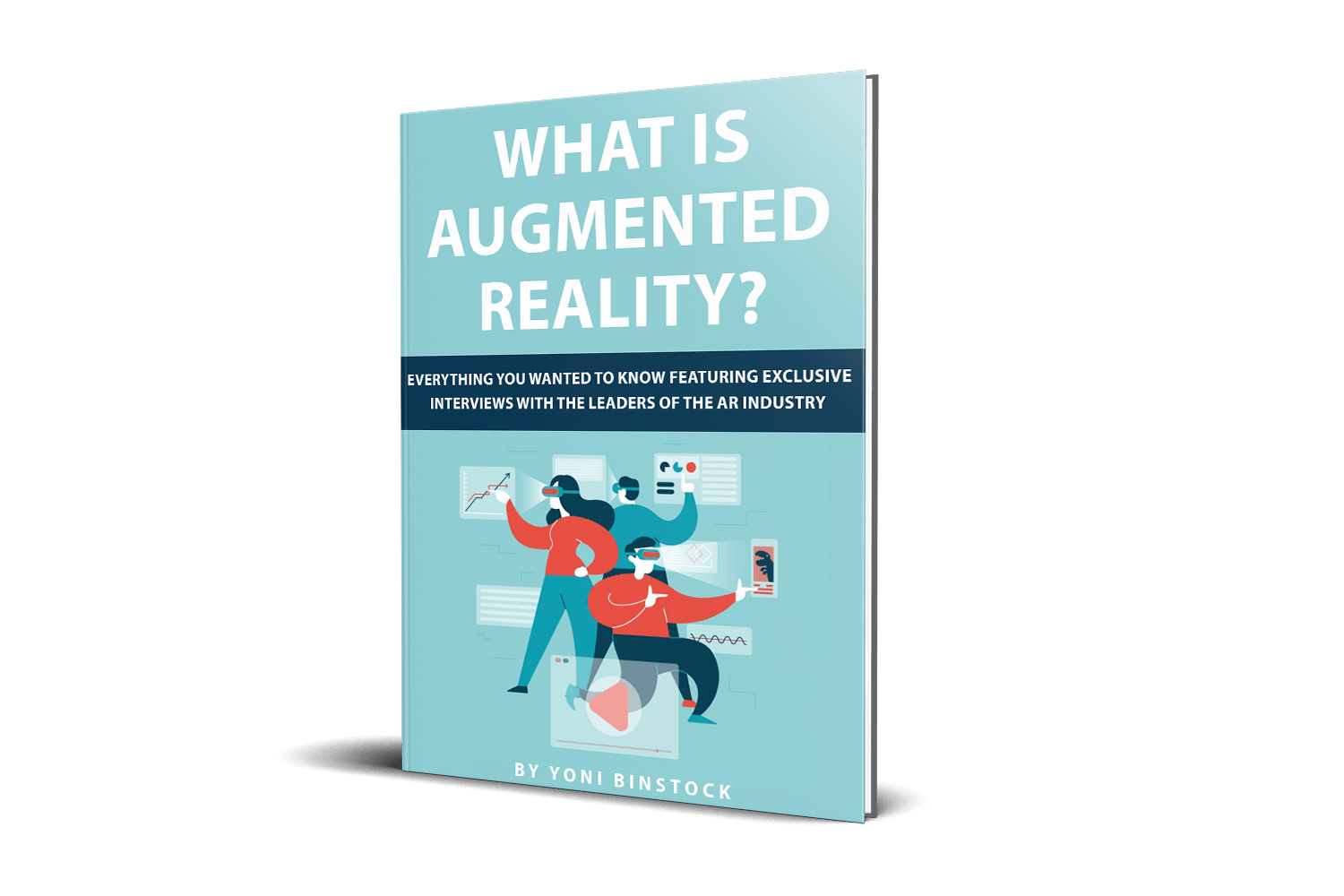 What is Augmented Reality, Augmented Reality, AR book